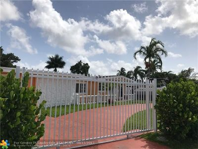 Miami Single Family Home For Sale: 1100 NE 184th St