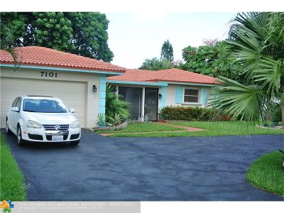 Tamarac Single Family Home For Sale: 7101 NW 100th Ter