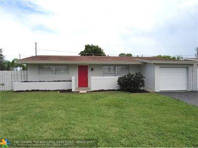 Sunrise Single Family Home Backup Contract-Call LA: 9190 NW 26th St