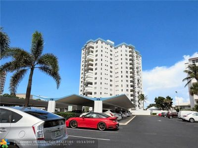 Pompano Beach Condo/Townhouse For Sale: 1500 S Ocean Blvd #102