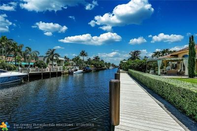 Fort Lauderdale Single Family Home For Sale: 626 Solar Isle Dr