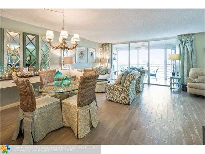 Pompano Beach Condo/Townhouse For Sale: 3095 NE Course Dr #608