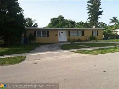 Pompano Beach Single Family Home For Sale: 1331 NE 40th St