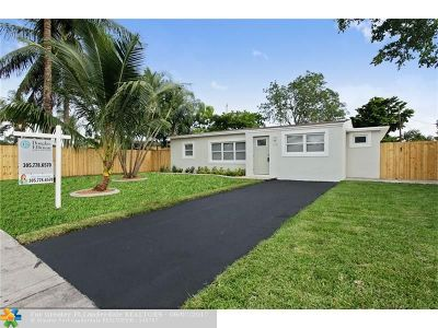 Oakland Park Single Family Home Backup Contract-Call LA: 510 NE 61st St