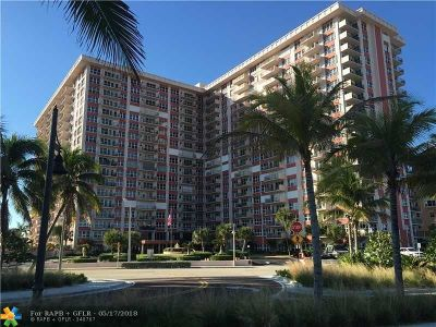 Pompano Beach Condo/Townhouse For Sale: 405 N Ocean Blvd #311