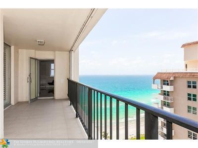 Hallandale Condo/Townhouse For Sale: 1904 S Ocean Dr #TS203