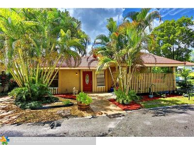 Coral Springs Single Family Home Backup Contract-Call LA: 1257 NW 91st Ave