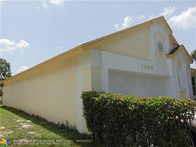 North Lauderdale Single Family Home Backup Contract-Call LA: 1359 W Glen Oak Rd