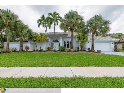 Boca Raton Single Family Home For Sale: 11391 Boca Woods Ln