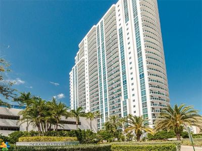 Hallandale Condo/Townhouse For Sale: 1945 S Ocean Dr #604