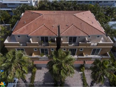 Fort Lauderdale Condo/Townhouse For Sale: 2612 NE 11th Ct #2612