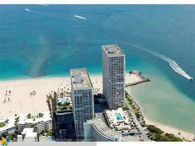 Fort Lauderdale Condo/Townhouse For Sale: 2100 S Ocean Ln #1401