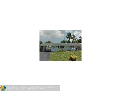 Pembroke Pines Single Family Home For Sale: 1161 NW 78th Ave