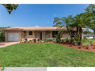 Coral Springs Single Family Home For Sale: 9293 NW 13th Pl