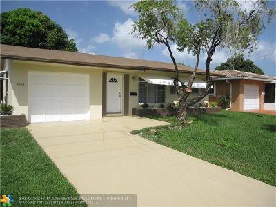 Tamarac Single Family Home Backup Contract-Call LA: 4802 Highland Dr