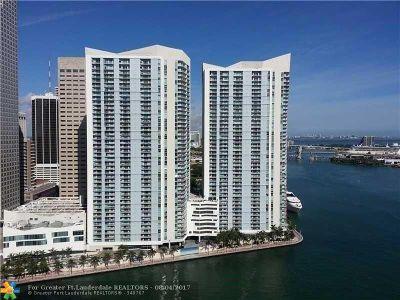 Miami Condo/Townhouse For Sale: 325 S Biscayne Blvd #1221