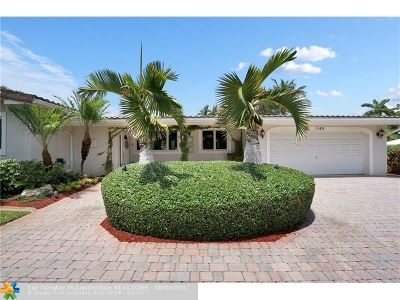 Fort Lauderdale Single Family Home For Sale: 1149 Seminole Dr