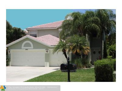 Boynton Beach Single Family Home For Sale: 3921 Newport Av