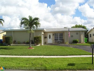 Sunrise Single Family Home For Sale: 9001 NW 25th St