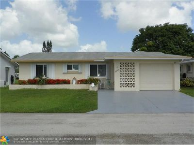 Tamarac Single Family Home For Sale: 5007 NW 49th Rd