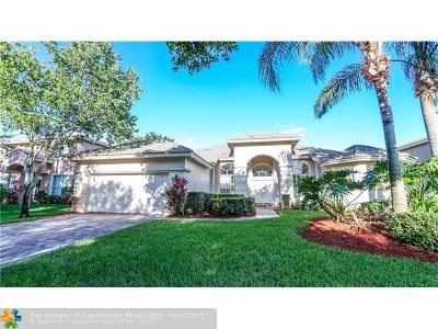 Coral Springs Single Family Home For Sale: 5117 NW 57th Way