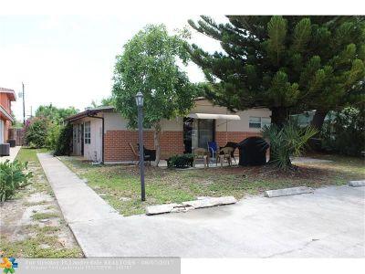 Pompano Beach Multi Family Home For Sale: 226-228 NE 25th Ave