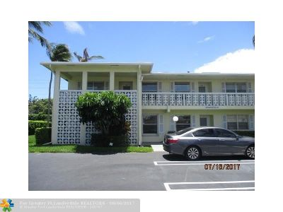 Delray Beach Condo/Townhouse For Sale: 2400 Black Olive Blvd #101