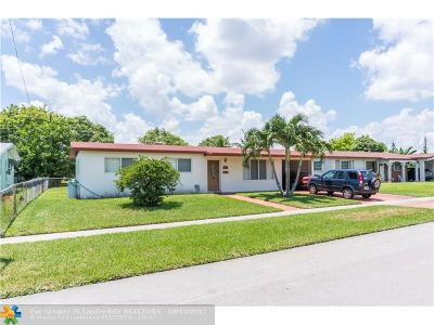 Lauderhill Single Family Home For Sale: 4820 NW 13th Ct