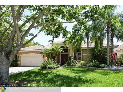 Coral Springs Single Family Home For Sale: 359 NW 119th Dr