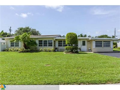 Wilton Manors Single Family Home For Sale: 514 NE 27th St