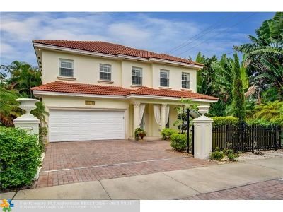 Wilton Manors Single Family Home For Sale: 2108 NE 1st Ave