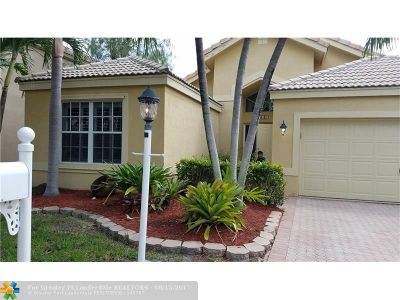 Coral Springs Single Family Home For Sale: 239 NW 117th Way