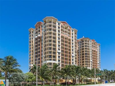 Fort Lauderdale Condo/Townhouse For Sale: 2001 N Ocean Blvd #1102