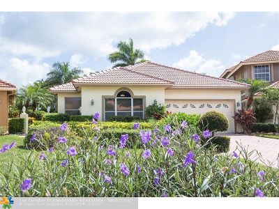 Boca Raton Single Family Home For Sale: 17212 Hampton Blvd