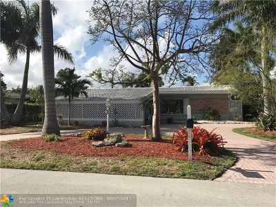 Pompano Beach Single Family Home For Sale: 3271 S Terra Mar Dr