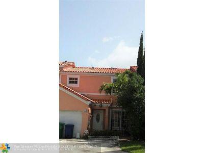 Miramar Condo/Townhouse Backup Contract-Call LA: 8436 SW 23rd Ct #8436