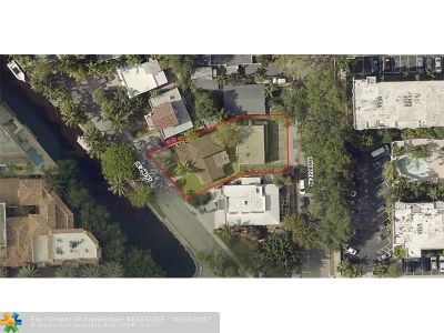 Fort Lauderdale Single Family Home For Sale: 1111 SE 2nd St