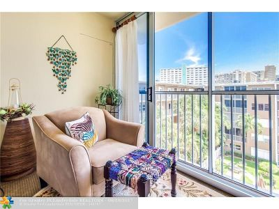 Lauderdale By The Sea Condo/Townhouse For Sale: 4117 Bougainvilla Dr #514