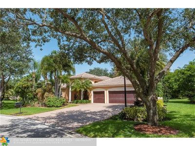 Parkland Single Family Home For Sale: 8329 NW 62nd Pl