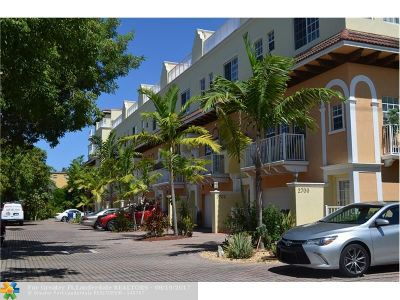Wilton Manors Rental For Rent: 2702 NE 8th Ave #2702