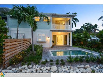 Fort Lauderdale Condo/Townhouse For Sale: 1542 Argyle Dr #1542
