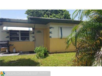 Hollywood Single Family Home For Sale: 5627 Arthur St