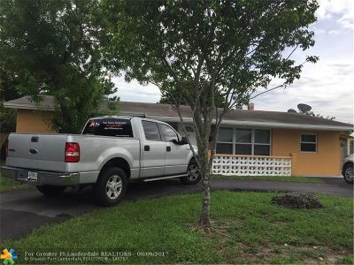 Pompano Beach Single Family Home For Sale: 670 NW 37th St