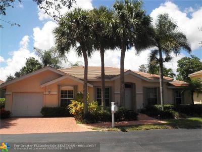 Pompano Beach Single Family Home For Sale: 3502 Sahara Springs Blvd