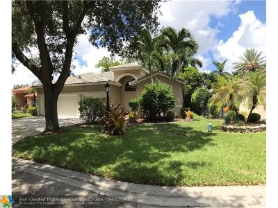 Coral Springs Single Family Home For Sale: 5771 NW 48th Dr