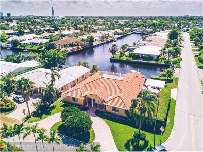 Fort Lauderdale Single Family Home For Sale: 5841 Bayview Drive