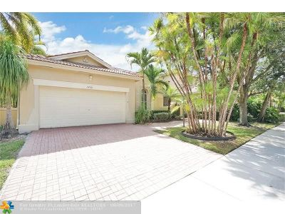 Coral Springs Single Family Home For Sale: 5768 NW 121st Ave