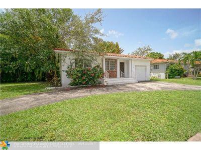 Coral Gables Single Family Home Backup Contract-Call LA: 16 Malaga Ave
