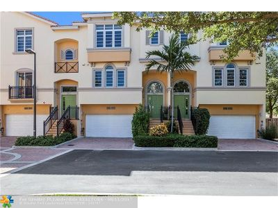 Oakland Park Condo/Townhouse For Sale: 3991 Coral Heights Way #1105