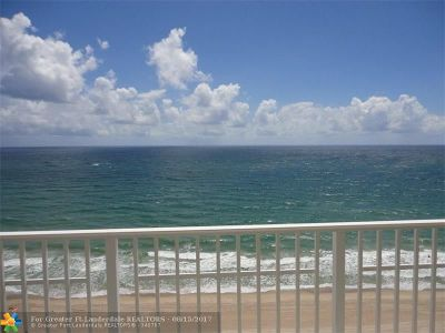 Pompano Beach Condo/Townhouse For Sale: 812 Briny Ave #PH B